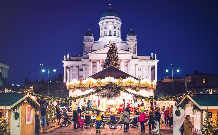 Senate Square: Helsinki Christmas
