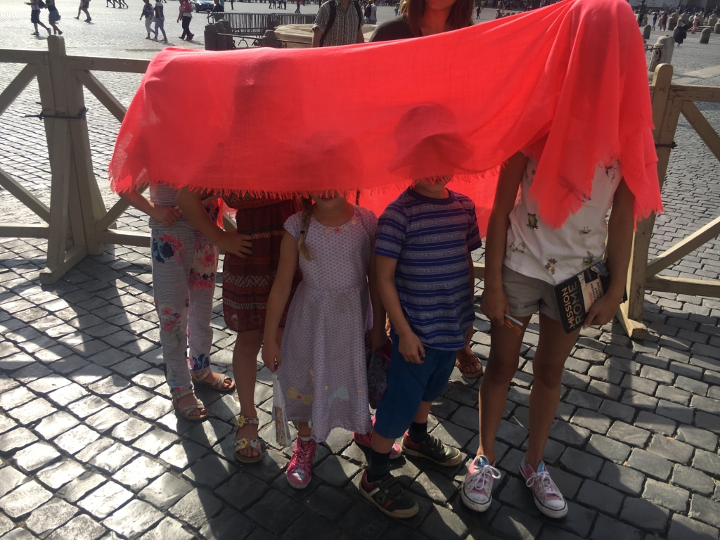 Rome with Kids: St Peter's Square